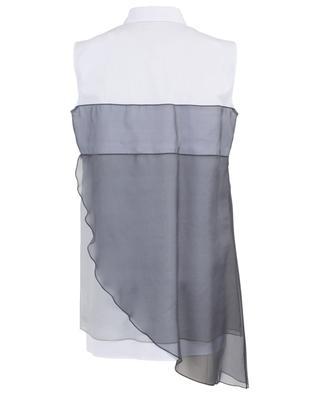 Sleeveless cotton blend and silk shirt FABIANA FILIPPI