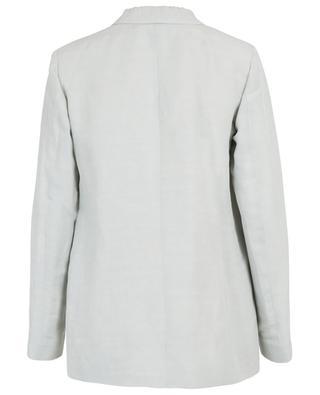 Linen blazer with shaw collar FABIANA FILIPPI