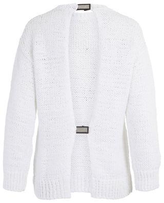 Cotton and linen sequins adorned knit jumper FABIANA FILIPPI