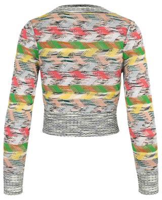 Pullover aus Wollmix mit V-Ausschnitt MISSONI