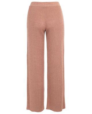 Pantalon en maille de lin et de cachemire MISSONI