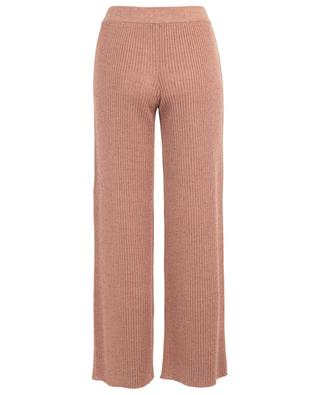 Linen and cashmere knit trousers MISSONI