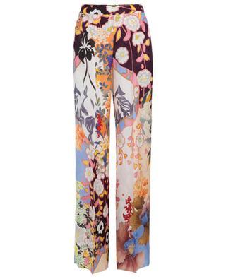 Pantalon large fleuri ETRO