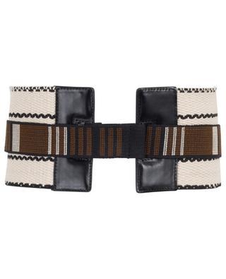 Wide woven belt ETRO