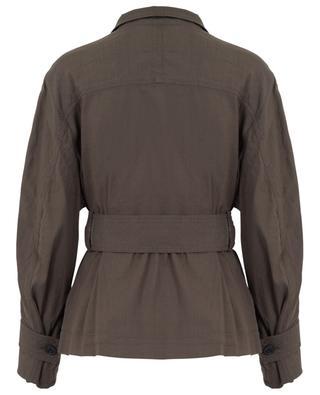 Leichte Jacke aus Leinenmix VINCE
