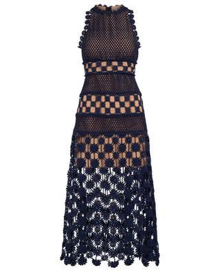 Gehäkeltes Kleid ohne Ärmel SELF PORTRAIT