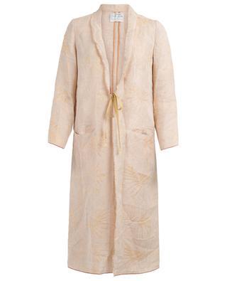 Lo Jacquard long lightweight jacket FORTE FORTE
