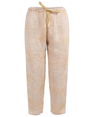 Pantalon en viscose et lin Lo Jacquard FORTE FORTE