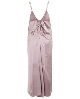 Satin slip dress with bow detail FORTE FORTE