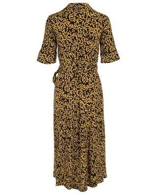 Goldstone floral printed wrap dress GANNI