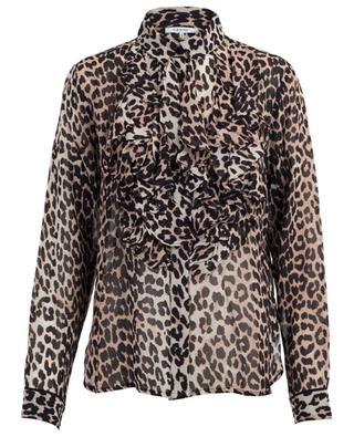 Mullin leopard print blouse GANNI