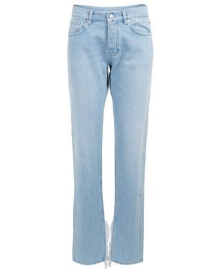 Fringe adorned straight fit jeans Sheldon GANNI