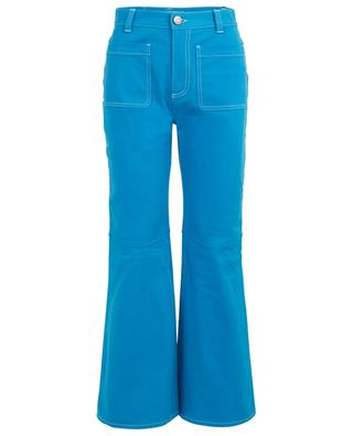 Pantalon évasé en coton SEE BY CHLOE