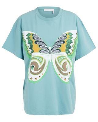 T-shirt boyfriend imprimé papillon SEE BY CHLOE