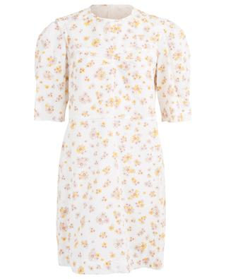 Summer Flowers short floral poplin dress SEE BY CHLOE