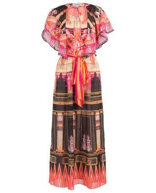 Langes Kleid mit Print Athena Kaftan TEMPERLEY LONDON