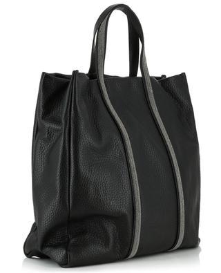 Giulia grained leather tote bag FABIANA FILIPPI