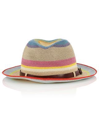 Gestreifter Hut aus Manilahanf GREVI