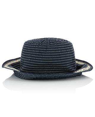 Chapeau cloche en ruban gros grain GREVI
