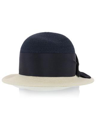 Manila hemp hat with bow GREVI