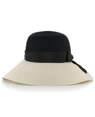 Grand chapeau en chanvre de Manille avec noeud GREVI
