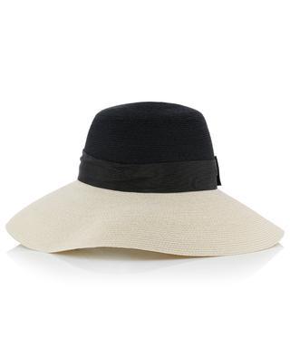 Manila hemp big hat with bow GREVI