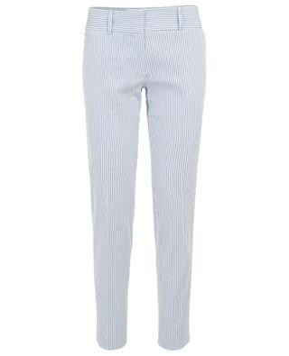 Stuart striped cotton and linen trousers MAX ET MOI