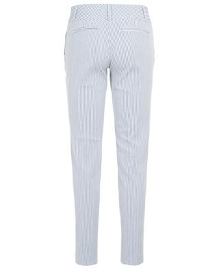 Stuart striped cotton and linen trousers MAX ET MOI