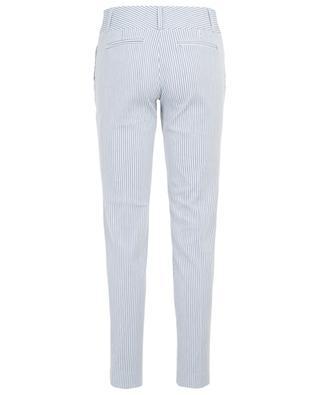 Pantalon rayé en coton et lin Stuart MAX ET MOI