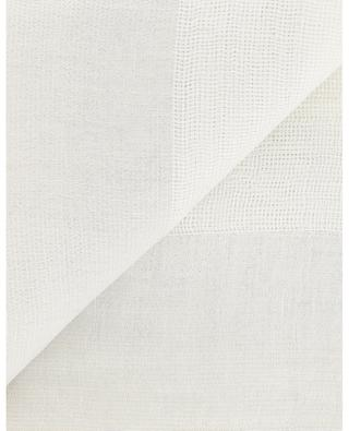 Toscana linen and cotton blend scarf GAYNOR