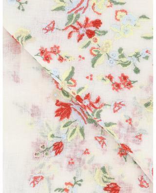 Étole en lin brodée de fleurs Tulika GAYNOR