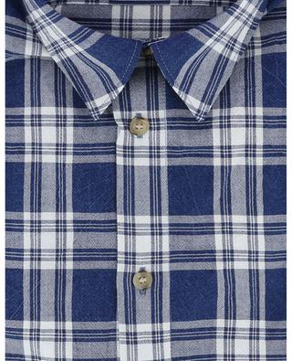 Check cotton shirt A.P.C.