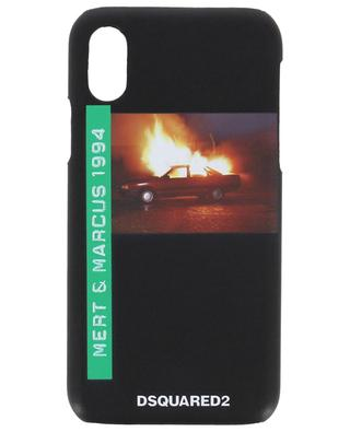 Mert & Marcus iPhone X phone cover DSQUARED2