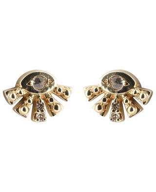 Ohrringe aus Gold Aztec Sun Eye CELINE DAOUST