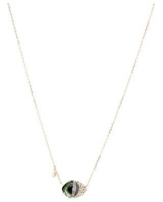 Collier en or, diamants et tourmaline Healing CELINE DAOUST