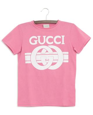T-shirt en jersey imprimé Gucci Logomania GUCCI
