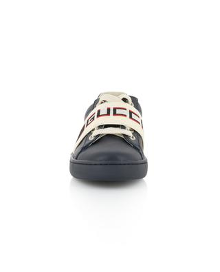 Ledersneakers Ace Gucci Stripe GUCCI