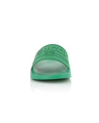 Claquettes en caoutchouc Gucci Logo GUCCI