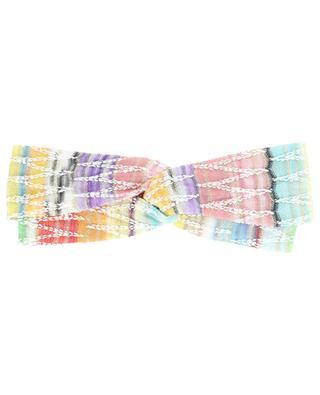 Bandeau double multicolore motif zigzag MISSONI MARE