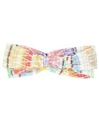 Zigzag patterned multicolour double hairband MISSONI MARE