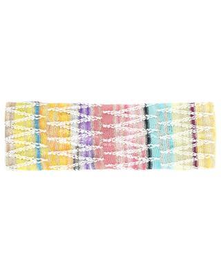 Bandeau multicolore en maille motif zigzag MISSONI MARE