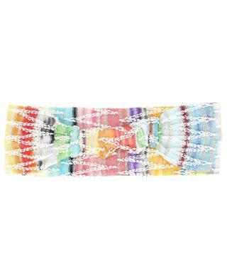 Buntes Strick-Haarband mit Zickzackmotiv MISSONI MARE