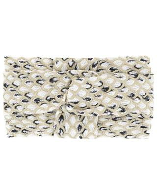 Strick-Haarband im schuppigen Turban-Look MISSONI MARE
