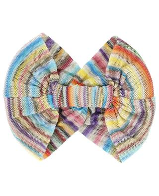 Twisted openwork knit hairband MISSONI MARE