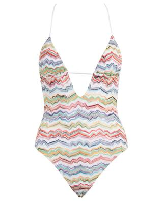Zigzag design swimsuit with cleavage MISSONI MARE