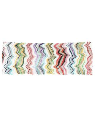 Zigzag knit hairband MISSONI MARE