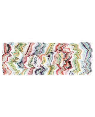Haarband im Zickzack-Strick MISSONI MARE