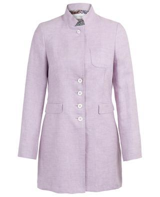 Leichter Mantel aus Leinen URSULA ONORATI