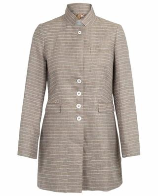 Bine striped lightweight coat URSULA ONORATI