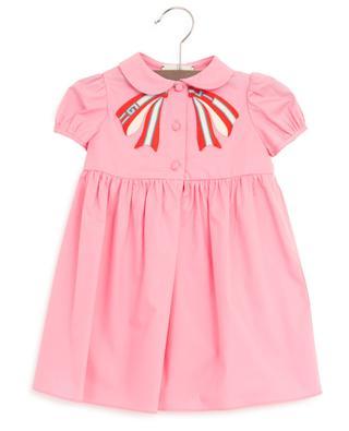 Besticktes Kleid Gucci Stripe Bow GUCCI